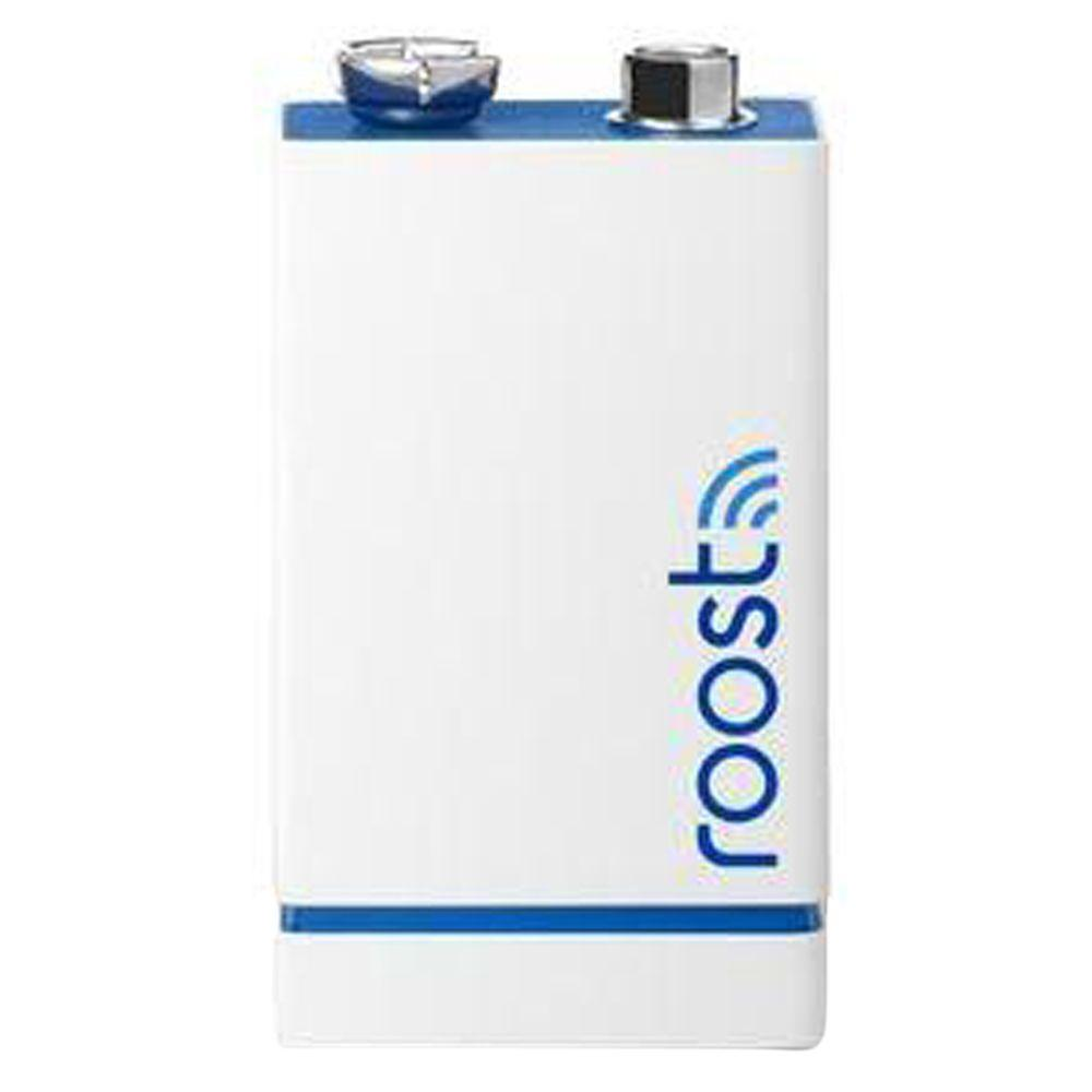Roost Smart 9V Battery for Smoke and Carbon Monoxide Alarms