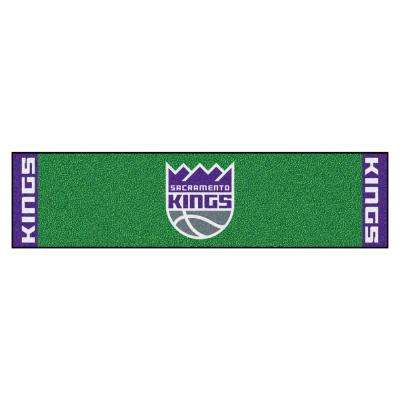 NBA Sacramento Kings 1 ft. 6 in. x 6 ft. Indoor 1-Hole Golf Practice Putting Green