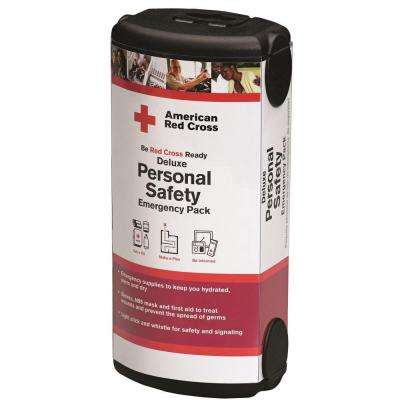 33-Piece Deluxe Personal Safety Emergency Kit