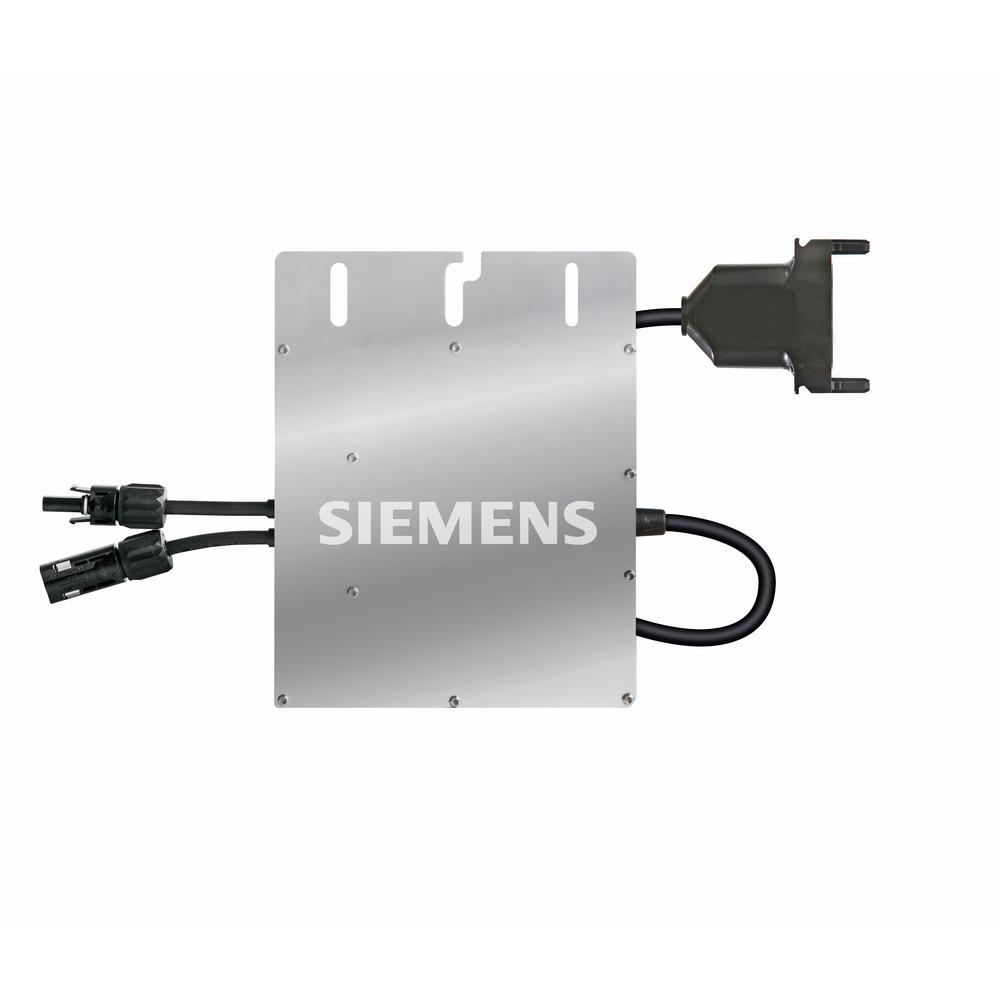 Siemens M215 Microinverter - 215-Watt Power Output, 60 Cell Panel Compatible, MC-4 Connector The Siemens Microinverter System improves energy harvest, increases reliability and dramatically simplifies design, installation and management of solar power systems. The Siemens system includes the Microinverter, Trunk-and Drop cables, the Envoy Communications Gateway and the Enlighten monitoring and analysis website. The Siemens 215-Watt Microinverter with integrated ground technology features a DC circuit isolated and insulated from ground, eliminating the need for a Ground Electrode Conductor (GEC). With this new technology, the installation is greatly simplified, safety is enhanced even further and an additional saving on labor and material costs can be harvested.