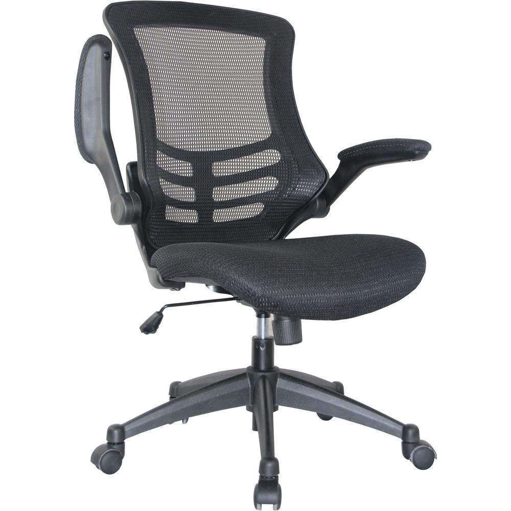 Lenox Mesh Adjustable Black Office Chair
