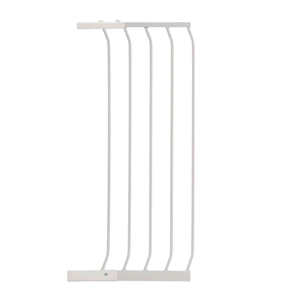 14 in. Gate Extension for White Chelsea Extra Tall Child Safety