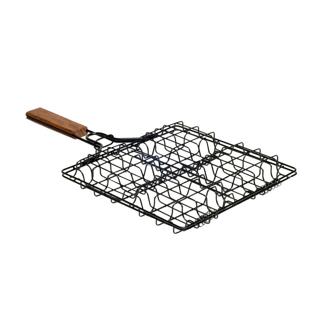 how to use weber fish basket
