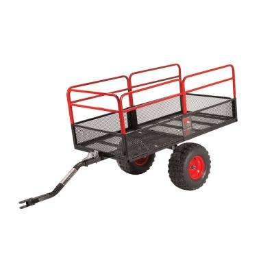 TX160 High Gear S2 Off Road Steel ATV / UTV / Lawn Mower Utility Trailer Dump Cart