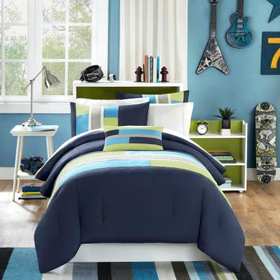 Switch 3-Piece Navy Twin Comforter Set