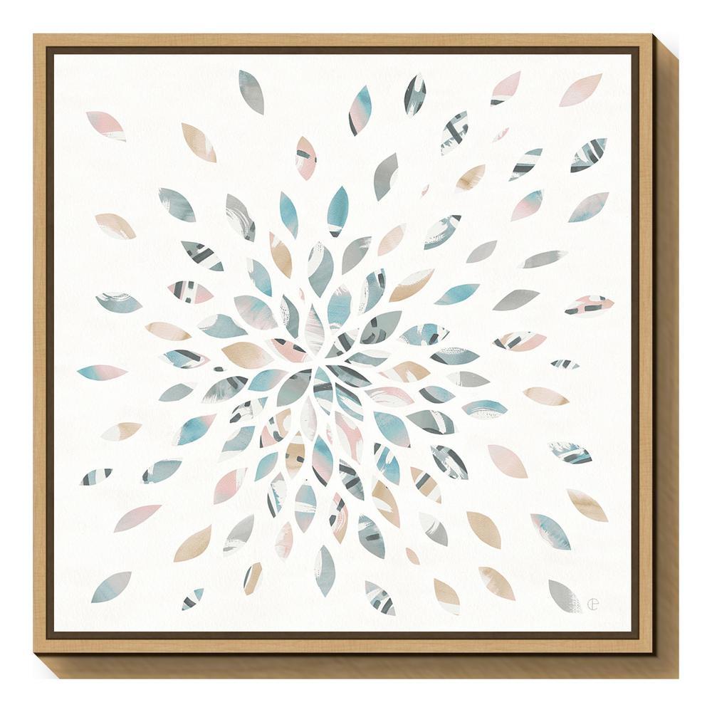 amanti art fireworks ii floral by elyse deneige framed canvas wall