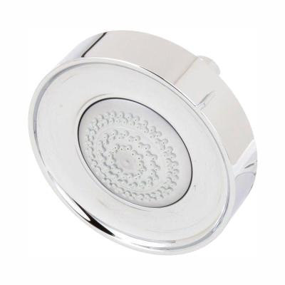 Purist 3-Spray 5.5 in. Single Wall Mount Low Flow Fixed Shower Head in Polished Chrome