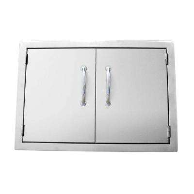 Classic Series 30 In. 304 Stainless Steel Double Access Door