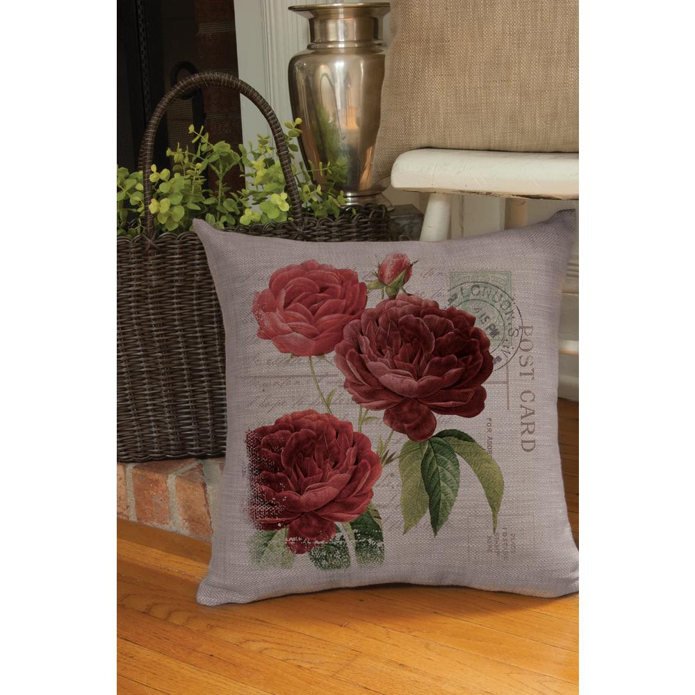 Rosamund Gray Decorative Pillow