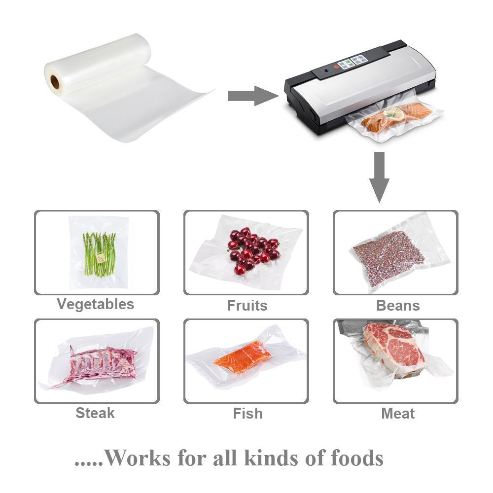 "Utopia Alley 2 Pack Vacuum Food Sealer Rolls, 11"" x 16'"