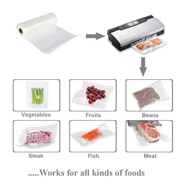 "Utopia Alley Utopia Alley 2 Pack Vacuum Food Sealer Rolls, 11"" x 16'"