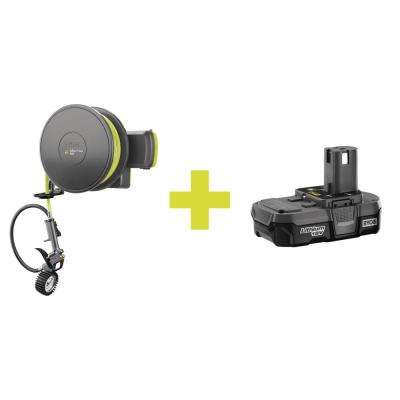 Inflator Accessory with Compact Lithium Battery