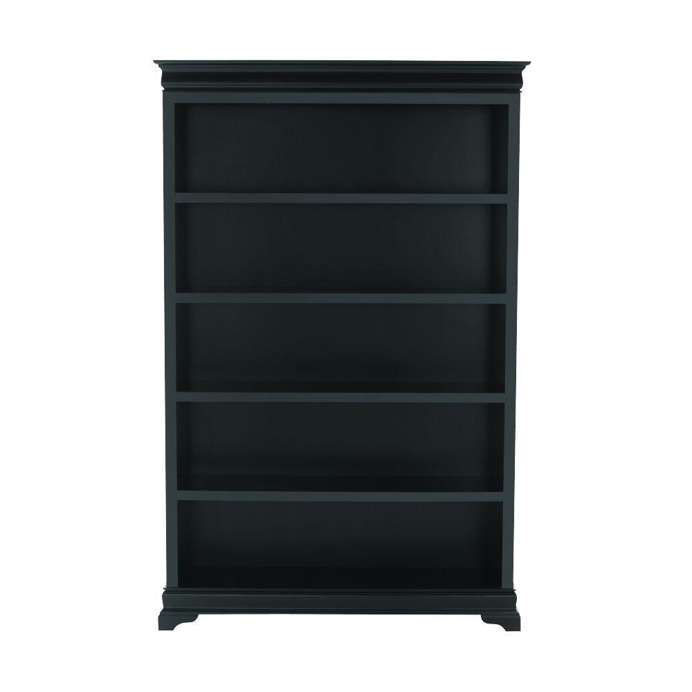 Home Decorators Collection Louis Philippe Black 47.5'' W 5 Shelf Open
