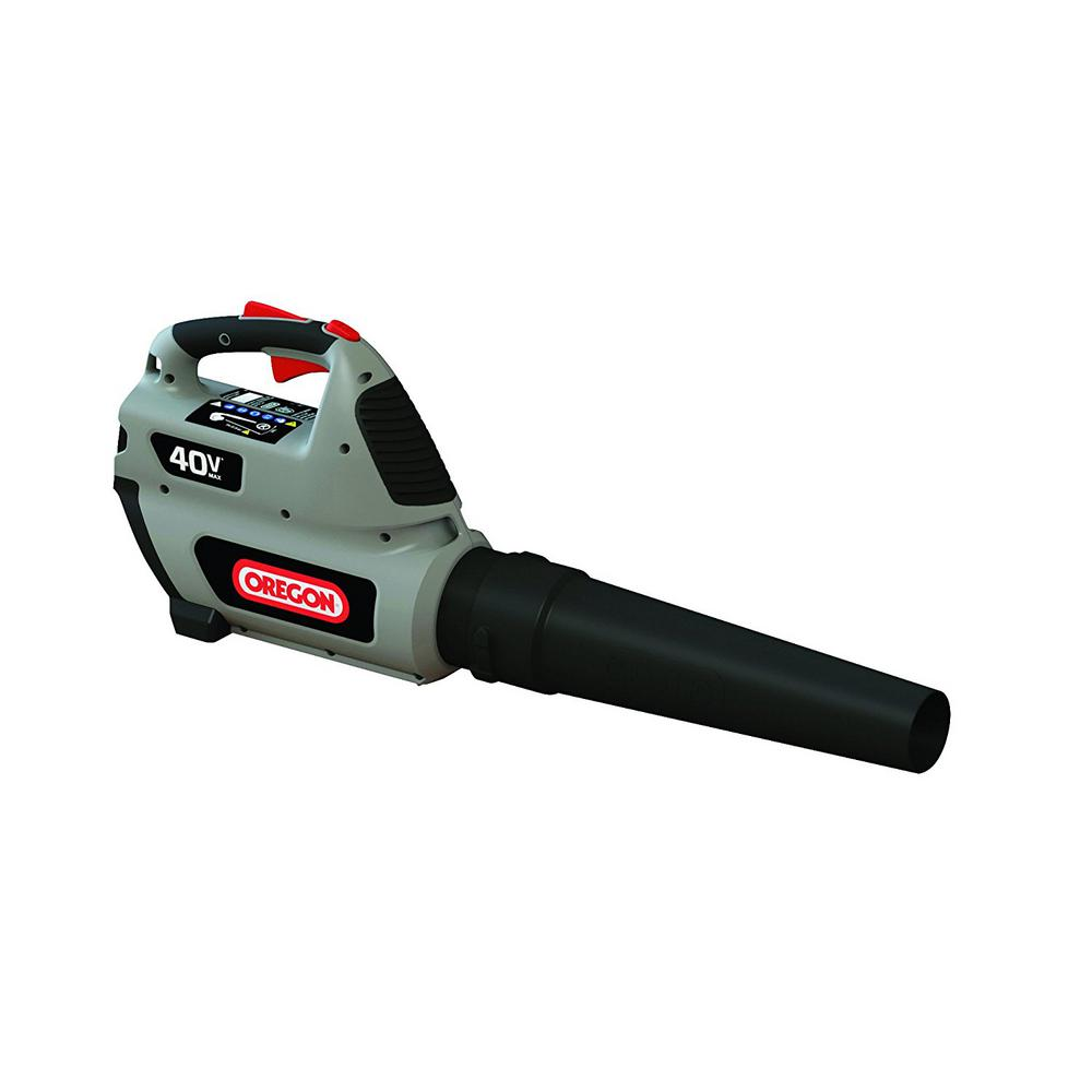 Oregon 131 MPH 507 CFM 40-Volt Lithium-Ion Cordless Handheld Leaf Blower – Battery and Charger not Included
