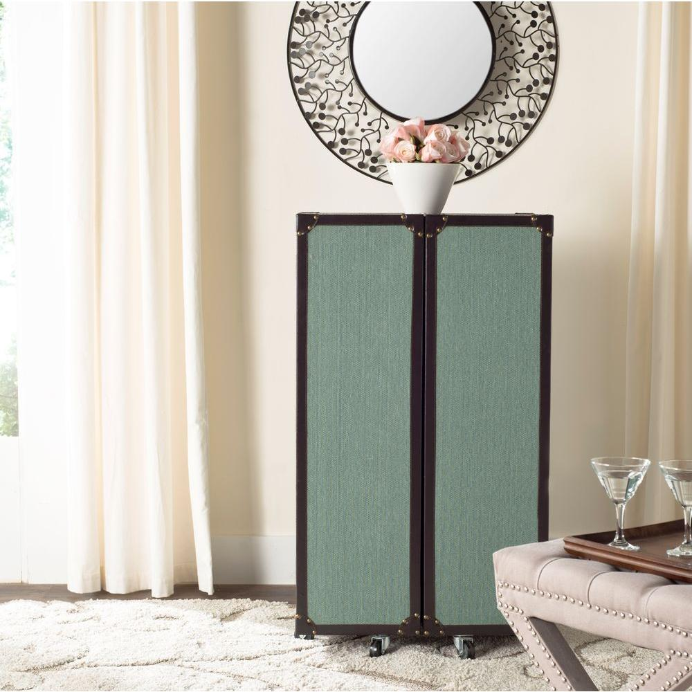 Lexington Wood Bar Cabinet in Sage