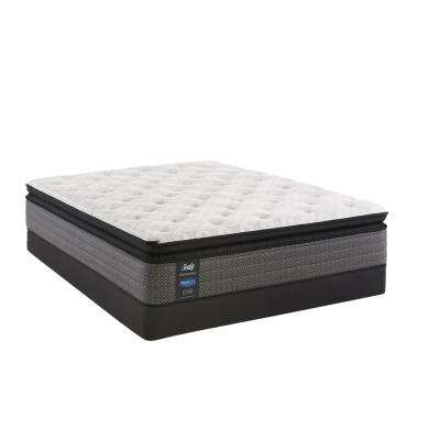 Response Performance 13.5 in. Full Cushion Firm Euro Pillowtop Mattress with 5 in. Low Profile Foundation Set