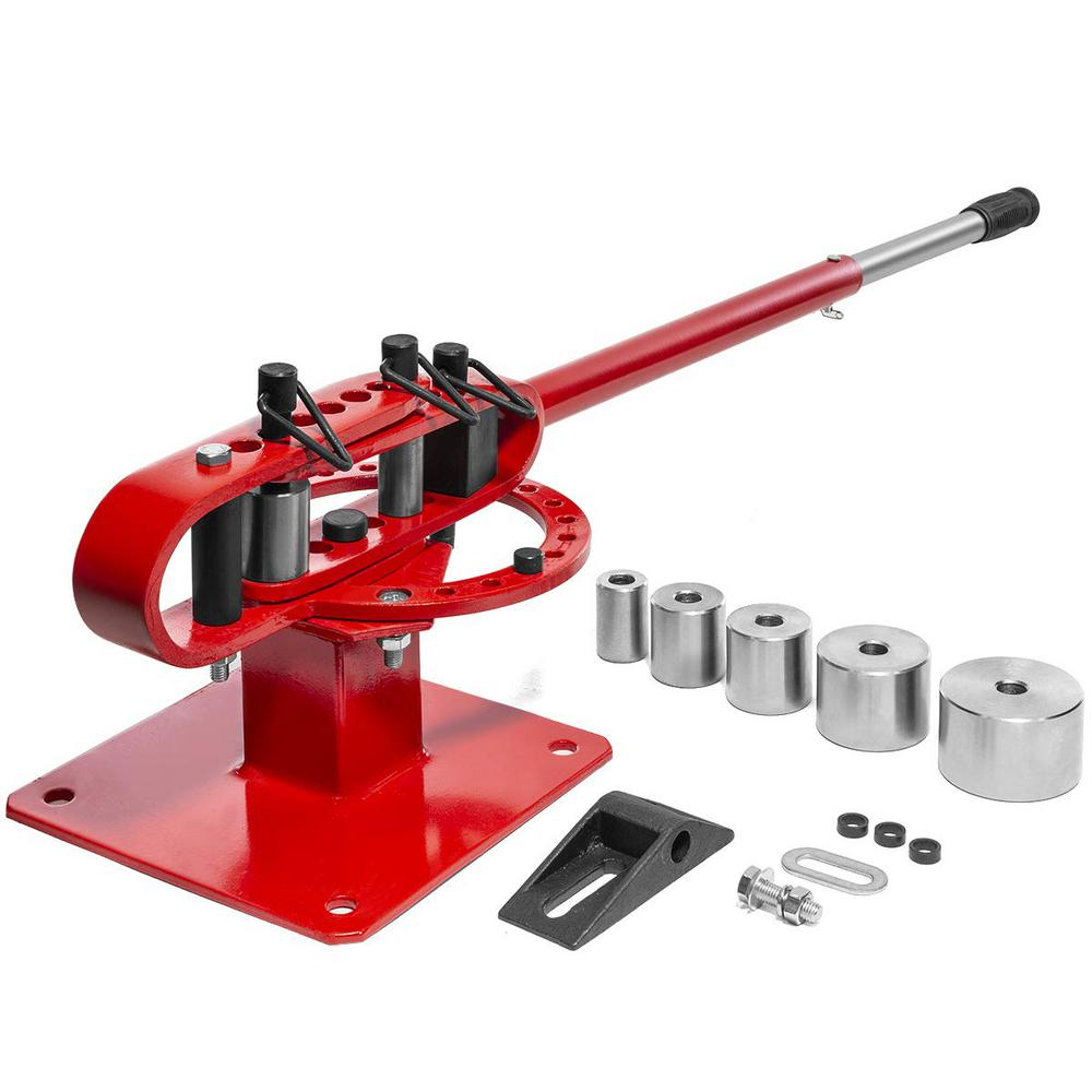 Stark 1 In To 3 In O D Benchtop Manual Tube Pipe And Tubing Bender With Telescoping Handle 56100 H The Home Depot