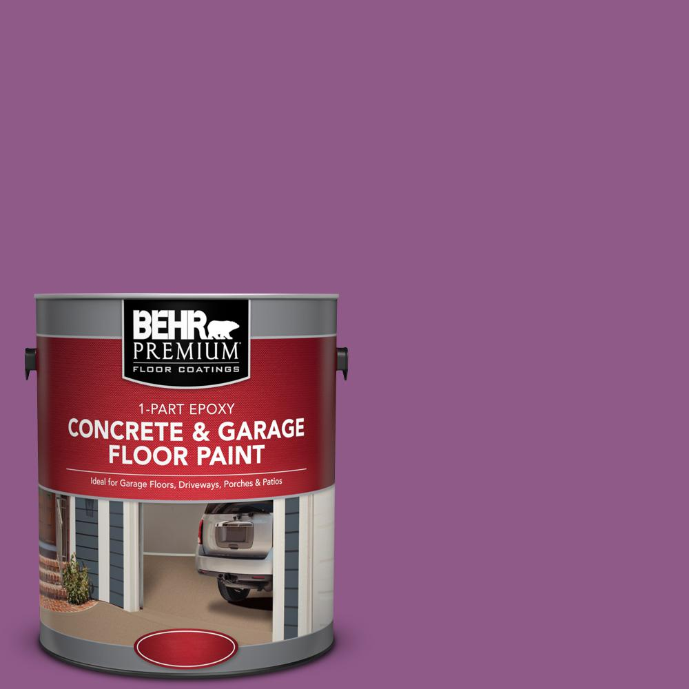 1 gal. #OSHA-4 Osha Safety Purple 1-Part Epoxy Concrete and Garage