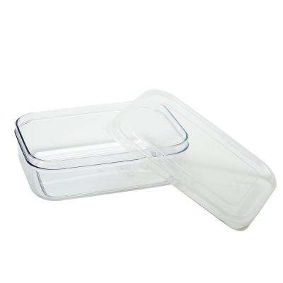 Micro Clear 5-Piece Plastic Container Set