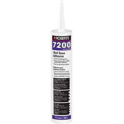 7200 11 fl. oz. Wall and Cove Base Adhesive in Cartridge Tube