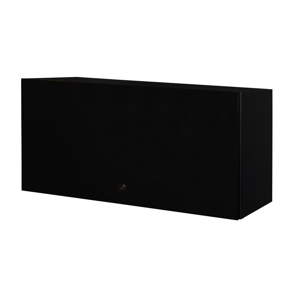 Regency Fusion Black Overhead Storage Cabinet