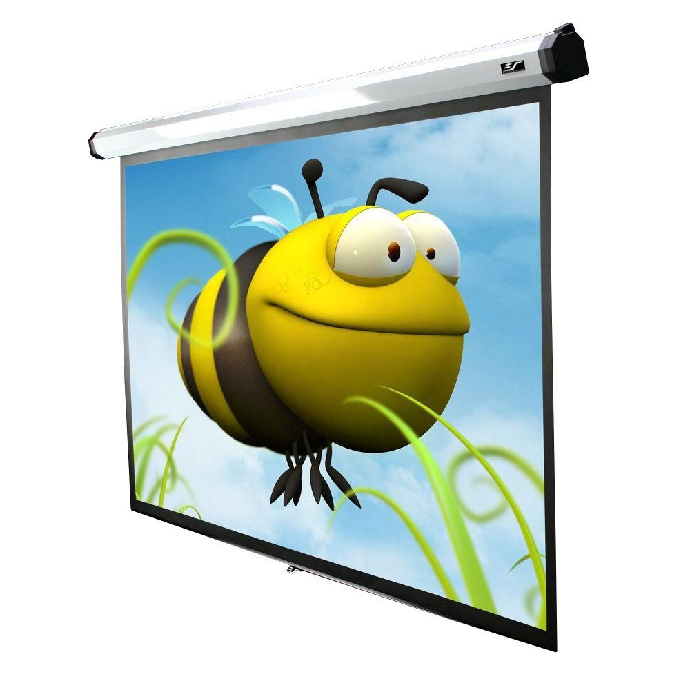 Elite Screens 90 in. Electric Motorized Projection Screen with 30 in. Drop