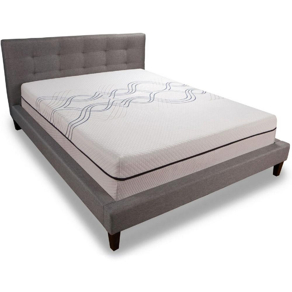 Comfort Revolution 12 In California King Memory Foam Mattress F03 00037 Ck0 The Home Depot