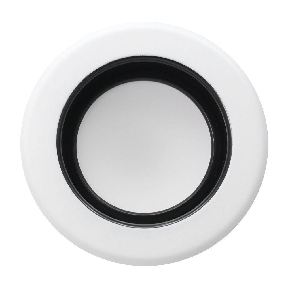 MAXCOR 4 in. Black Recessed LED Downlight Kit 3000K
