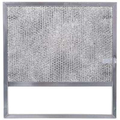 43000 Series Range Hood Non-Ducted Replacement Filter with Light Lens (1 each)