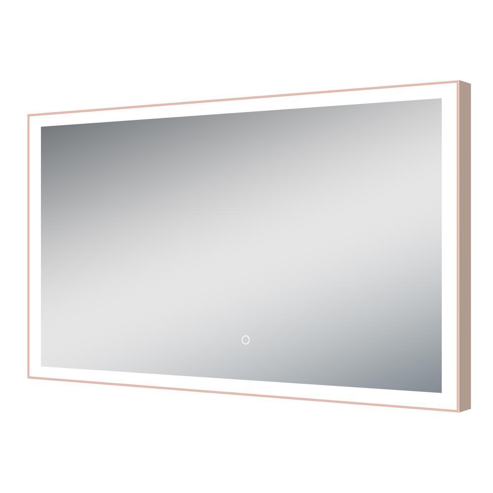 40x24 Rectangular LED Mirror
