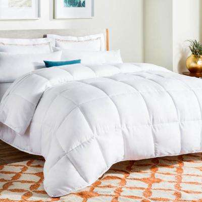 White Down Alternative Twin XL Size Quilted Comforter