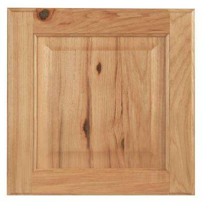 12.75x12.75 in. Cabinet Door Sample in Hampton Natural Hickory