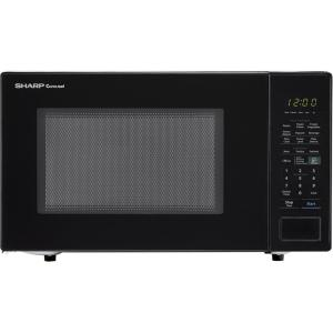Sharp Carousel 1.4 cu. ft. Countertop Microwave in Black with Sensor Cooking Technology by Sharp