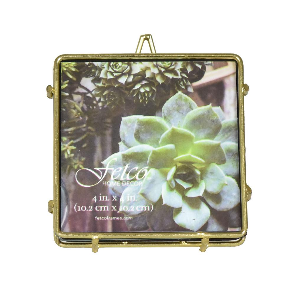 4 In X 4 In Franco Gold Press Picture Frame Set Of 2 Tx55700b44