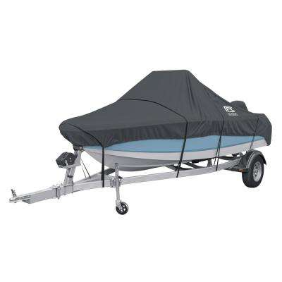 StormPro 22 to 24 ft. Charcoal Grey Center Console Boat Cover