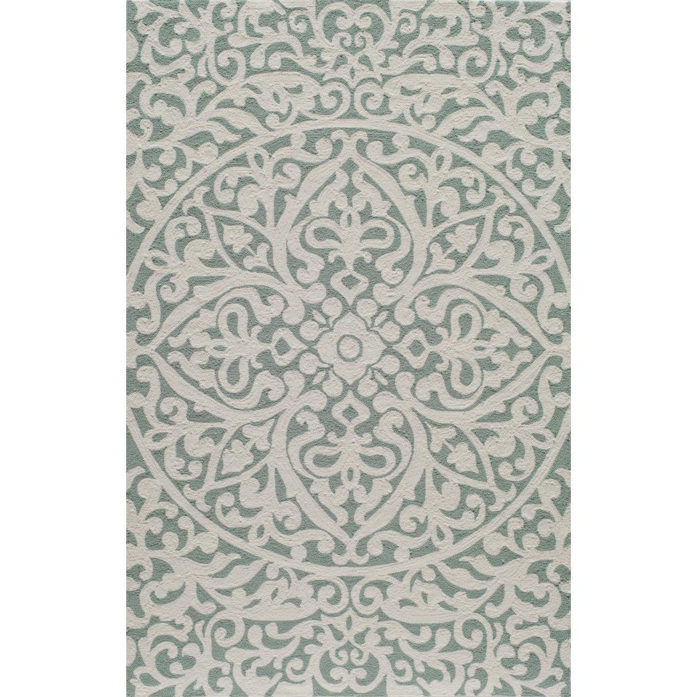 Momeni Veranda Blue 8 Ft X 10 Indoor Outdoor Area Rug