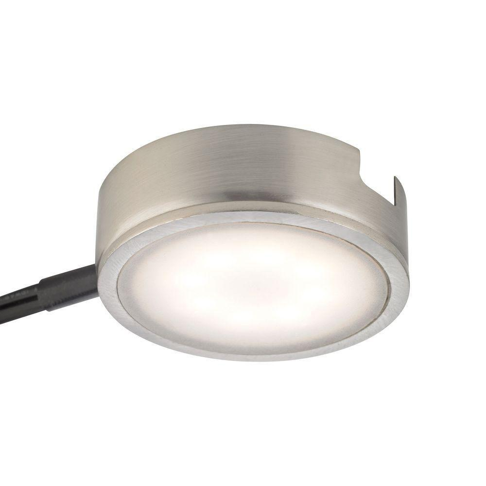 Titan Lighting Tuxedo 1-Light LED Satin Nickel Under Cabi...