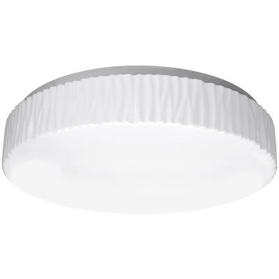 15 in. Glacier Decorative Border Selectable CCT LED Flush Mount Ceiling Light 1450 Lumens 22-Watts Dimmable Energy Star