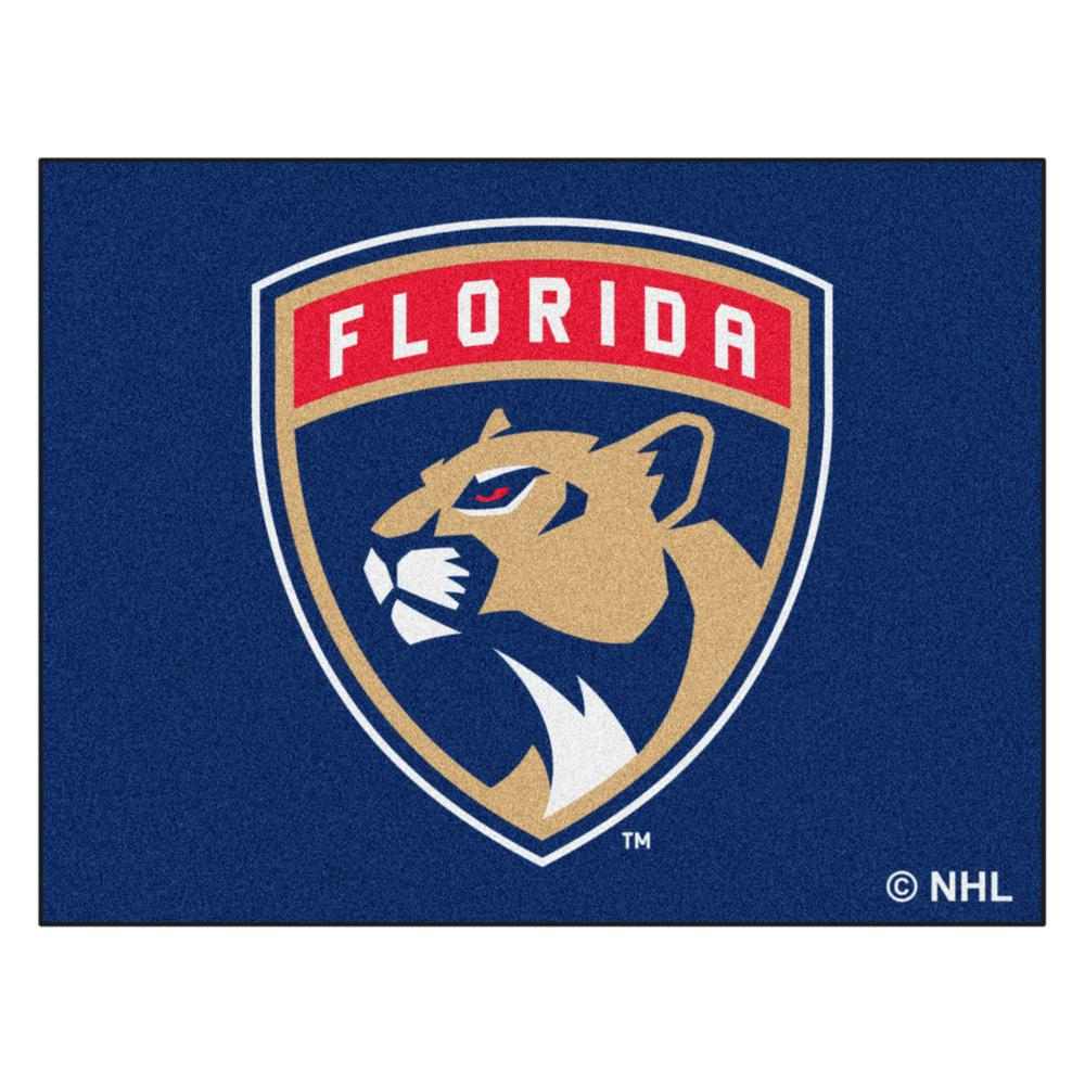 NHL Florida Panthers Blue 2 ft. 10 in. x 3 ft.