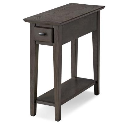 Smoke Gray Chairside/Recliner Table