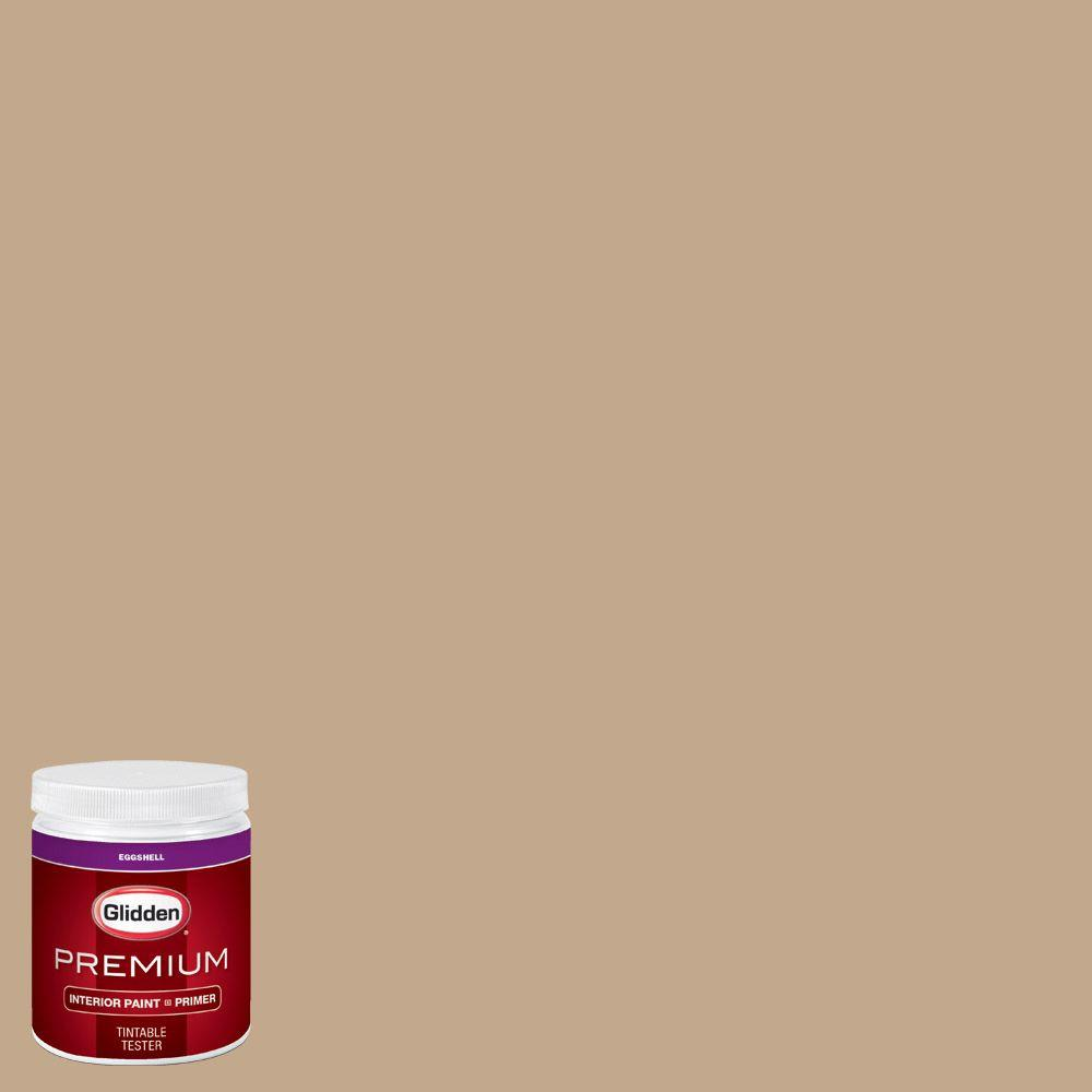 Glidden Premium 8 Oz Hdgwn20u Highland Plains Neutral Eggshell Interior Paint With Primer