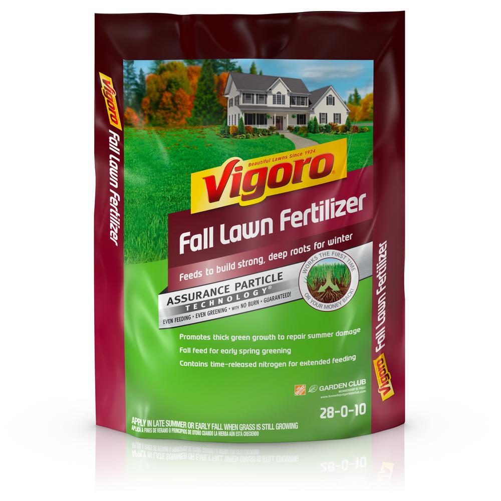 Vigoro 5,000 sq  ft  Fall Lawn Fertilizer