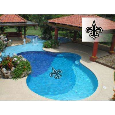 NFL New Orleans Saints 59 in. x 59 in. Large Pool Graphic