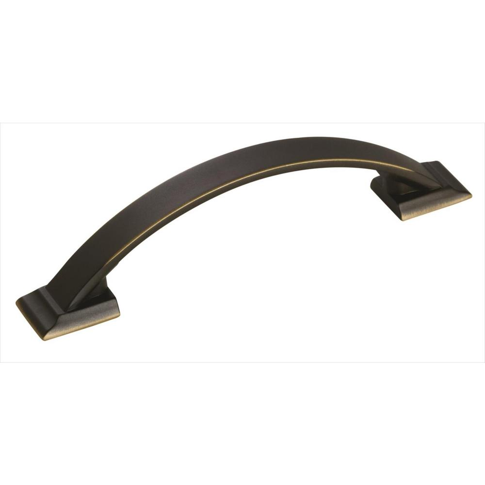 Amerock Candler 3-3/4 in (96 mm) Center-to-Center Venetian Bronze Cabinet Pull