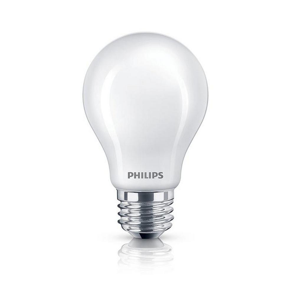 philips 40 watt equivalent a19 led light bulb 8 pack soft white classic glass energy star. Black Bedroom Furniture Sets. Home Design Ideas