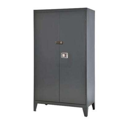 79 in. H x 46 in. W x 18 in. D 5-Shelf Steel Extra Heavy Duty 16-Gauge Freestanding Storage Cabinet in Charcoal