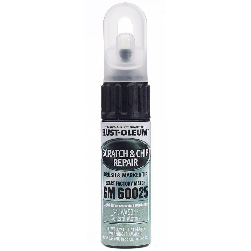 0.5 oz. Light Bronzemist Metallic Scratch and Chip Repair Marker (6-Pack)