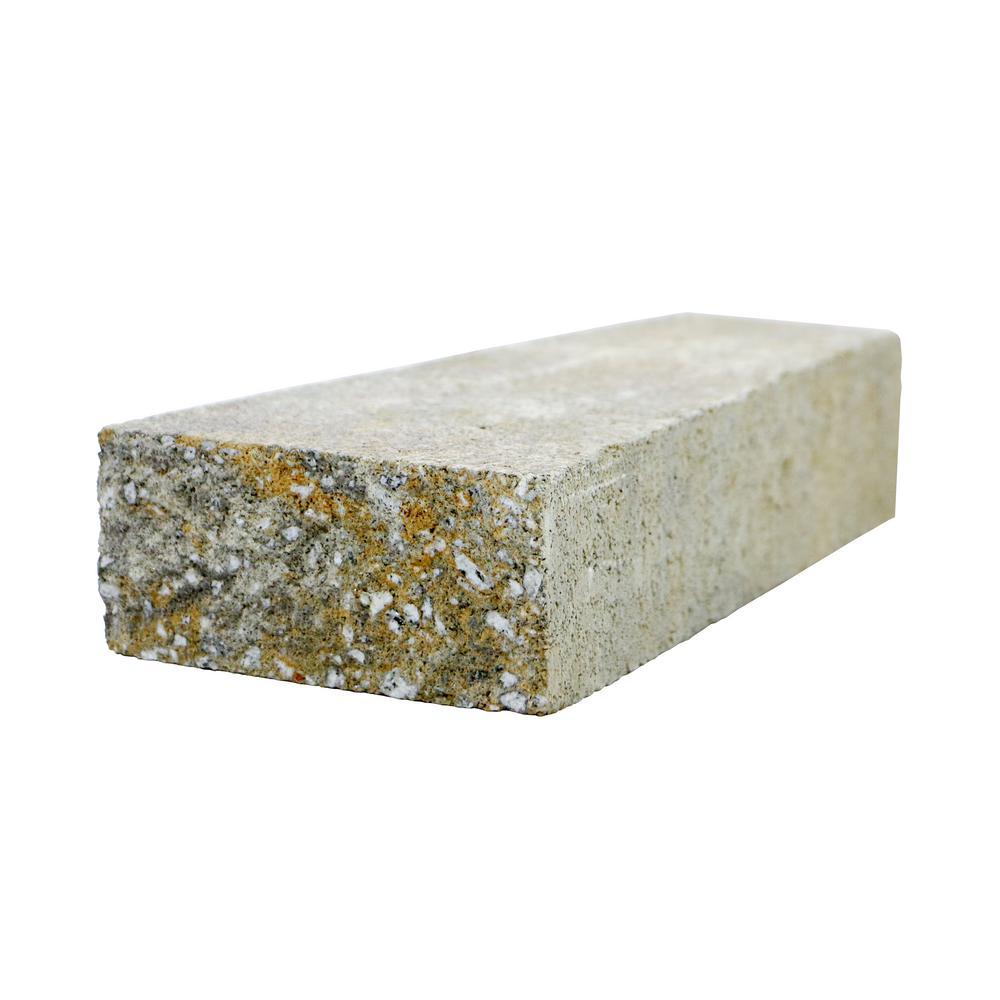 RockWall 2 in. x 4.25 in. x 9 in. Yukon Concrete Wall Cap (320 Pcs. / 89 Lin. ft. / Pallet)