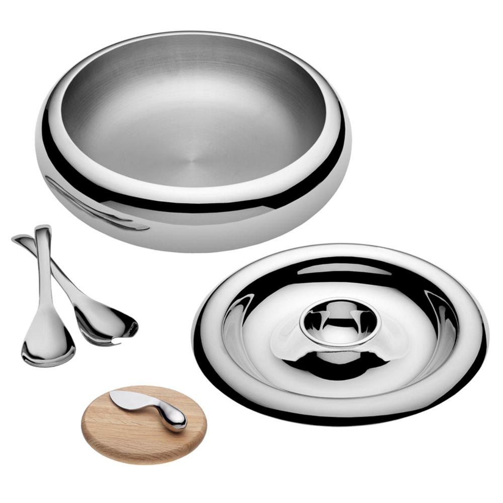 6-Piece Bowl and Chip and Dip Entertaining Set