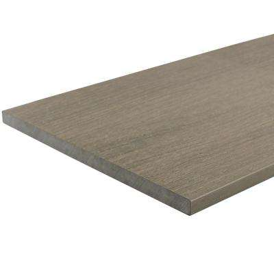 UltraShield 0.6 in. x 12 in. x 12 ft. Roman Antique Fascia Composite Decking Board